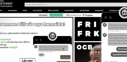 Välkommen till Smoketowers nyrenoverade hemsida!